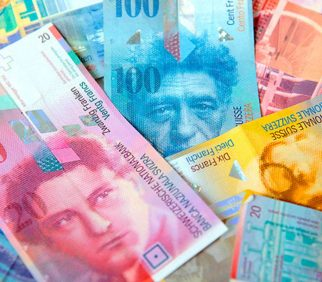 Buy and invest in Swiss francs